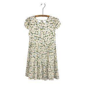 American Eagle Babydoll Swing Dress Floral